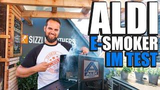 ALDI Nord E-Smoker TEST! Wie schlägt sich der elektrische Räucherofen im Einsatz? Smoked Pork Belly!