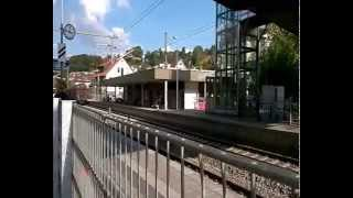 preview picture of video 'Ein Güterzug in Wernau'