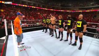 John Cena's Team vs Nexus - YouTube