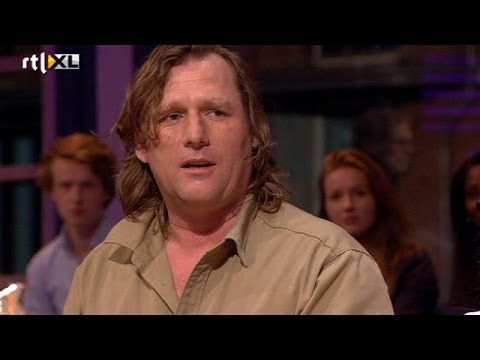 Arjan Postma: geen beest is stoerder dan een haas- RTL LATE NIGHT