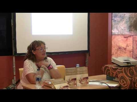 Conferencia de Pilar Bellés Pitarch en Bicorp (Valencia) sobre las pinturas rupestres