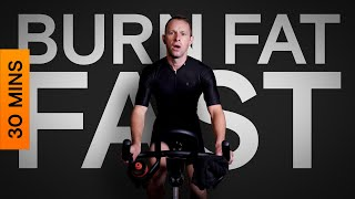 30 Minute Indoor Cycling Workout Fat Burning Intervals Mp3