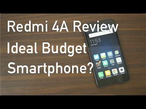 Redmi 4A Budget Smartphone Review with Pros & Cons