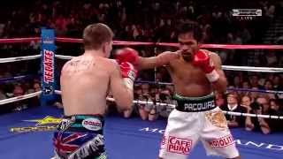 Pacquiao Vs Hatton Knockout