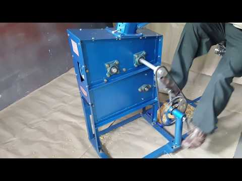 Pedal Operated Corn Sheller