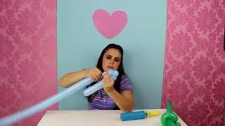 Este vídeo ensina passo a passo como fazer uma espada de balão para as crianças brincarem nas festinhas!!!! Faz o maior sucesso!!! Super fácil de fazer! www.amofestas.com www.facebook.com/amofestas