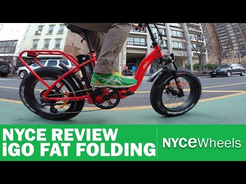 iGo Fat Folding Electric Bike Review – $1699 All Purpose E-Bike!