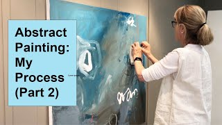 How to Create an Abstract Painting: Liberate Your Style (Part 2) / Art with Adele