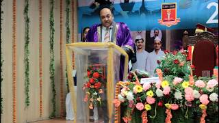 GHS-IMR 22nd Convocation 2018: Chairman's Speech