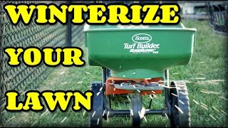 How When and Why To Winterize Your Lawn