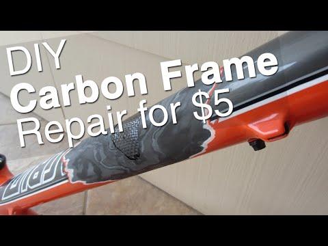 DIY Carbon Bike Frame Repair    Tools, Supplies, How To, Step by Step