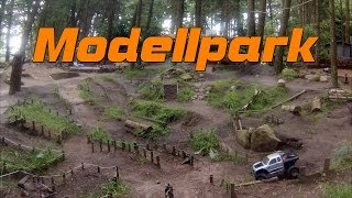 preview picture of video 'RC Axial Honcho - Modellpark Groß Ippener Germany'