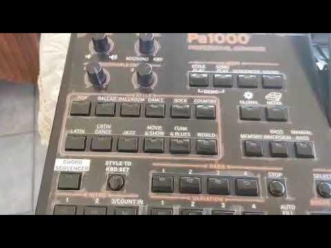 CUSTOM KORG PA800 MODULE - ROB REDZEPOVSKI - Video - 4Gswap org