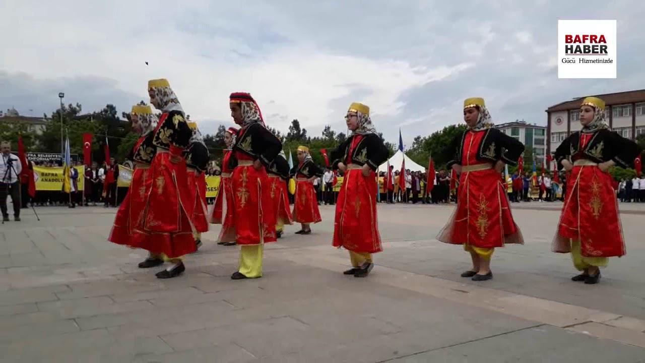 Bafra Yedi İklimin Sesi Türk Halk Oyunları Gösterisi