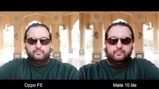 Huawei Mate 10 Lite Vs Oppo F5 Camera Test