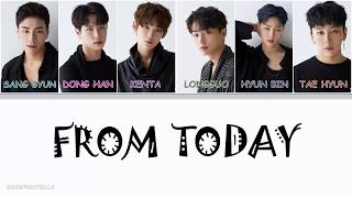 JBJ-From Today (오늘부터) [HAN/ROM/ENG COLOR CODED