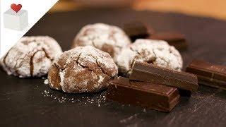 Cómo Hacer Deliciosas Galletas Craqueladas De Chocolate | Recetas Azúcar Con Amor