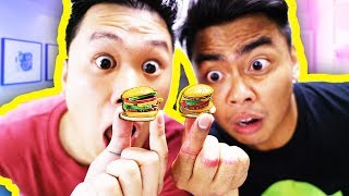 Making The Smallest Mini Burgers Youve Ever Seen! (ft. @DavidParody)