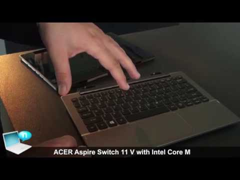 ACER Aspire Switch 11 V (2015) with Intel Core M