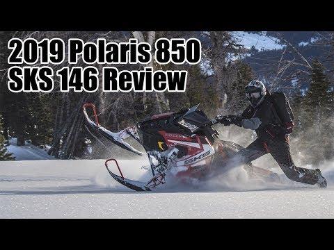 2019 Polaris 850 SKS 155 SnowCheck Select in Monroe, Washington