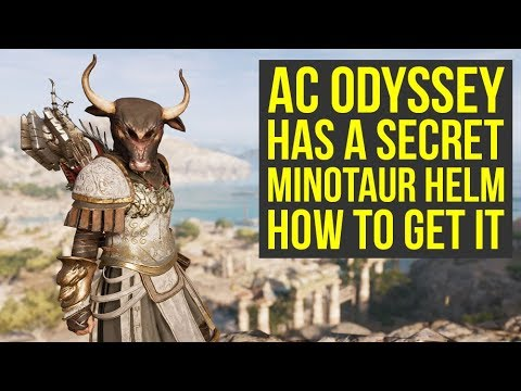 Assassin's Creed Odyssey: How to Get The Minotaur Helmet