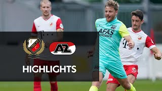 Highlights FC Utrecht - AZ | Friendly | Eredivisie Comeback