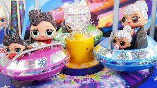 LOL Surprise Dolls + Lil Sisters at Playmobil Fair