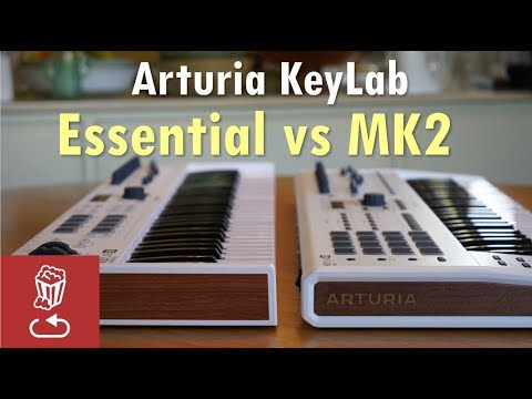 Arturia KeyLab MK2 vs Essential: Is it worth the price difference?