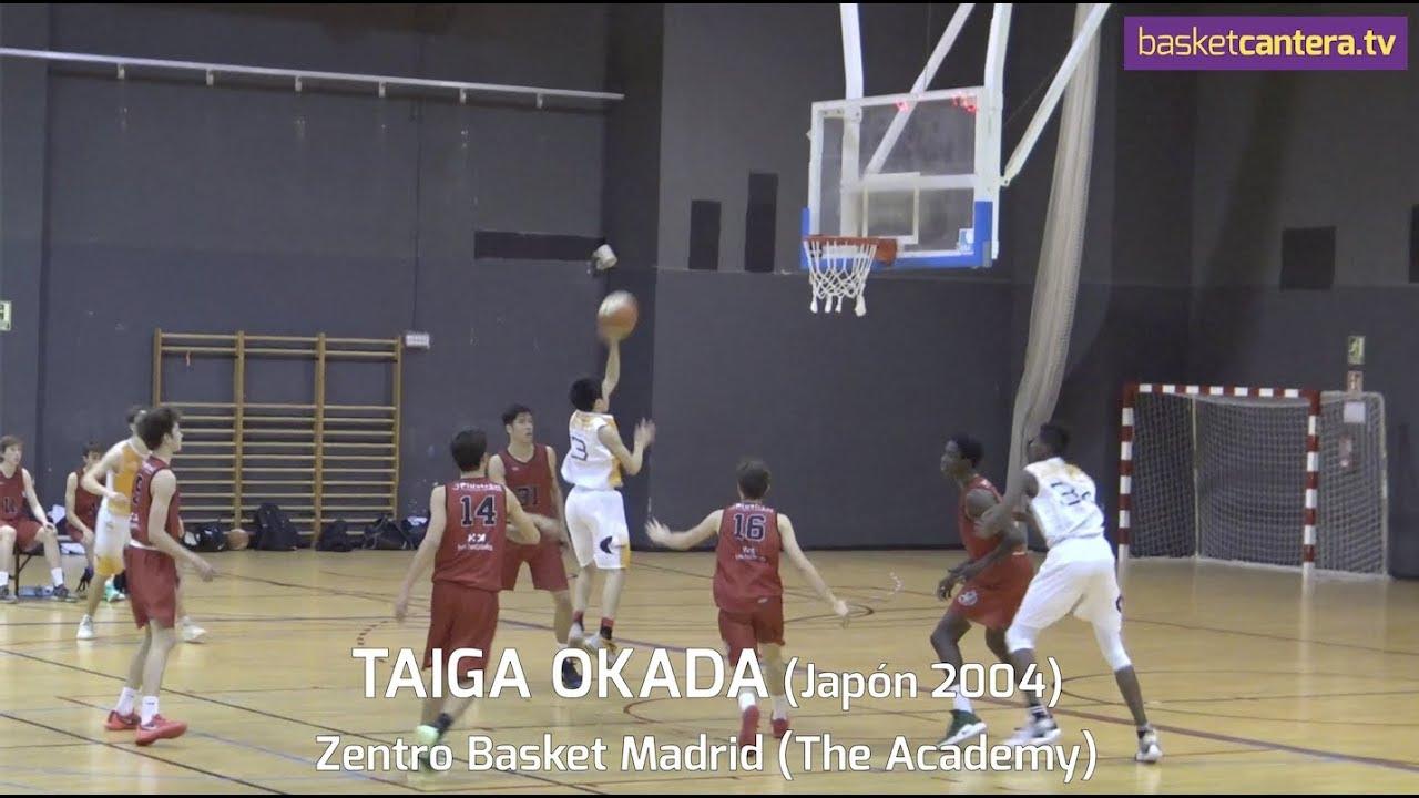TAIGA OKADA (Japón 2004).- Basket Zentro Madrid. The Academy 2019 (BasketCantera.TV)