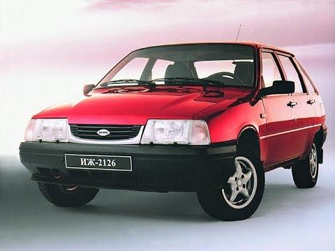 Реклама автомобиля ИЖ-2126