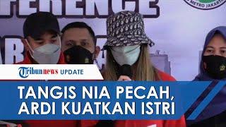 Tangis Nia Ramadhani Pecah saat Minta Maaf atas Kasus Penyalahgunaan Narkoba, Ardi Kuatkan Istrinya