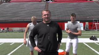 preview picture of video 'Youngstown State Football - ALS Ice Bucket Challenge'