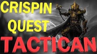 Divinity: Original Sin 2 - Tactician mode - Crispin quest