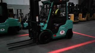 Henley Forklift Safety Zone Spot Lamp