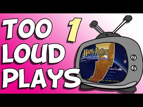 Too Loud Plays: Harry Potter and the Sorcerer's Stone - Ep 01 - Yer uh Weezer