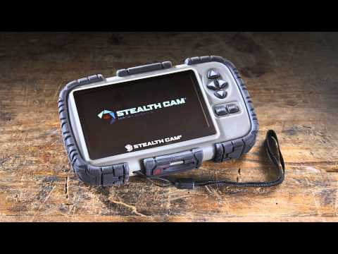 Stealth Cam SD Card Reader and Viewer with 4.3 LCD Screen