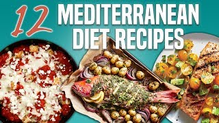 12 Mediterranean Diet Recipes | Recipe Compilation | Well Done