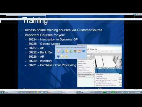 Using Customersource in Dynamics GP - YouTube