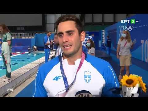 Καπότσης: Αυτό το μετάλλιο ανήκει σε ΟΛΟΥΣ τους Έλληνες   08/08/2021   ΕΡΤ