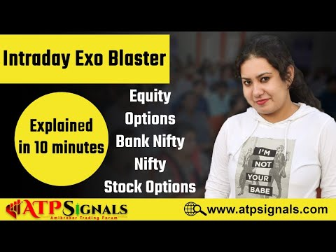 Intraday Exo Blaster - Expert Trade Finder || Training Video English Version || Amisignals.com