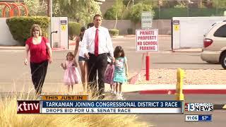 Danny Tarkanian now running for Congress, not Senate, at President Trump's urging