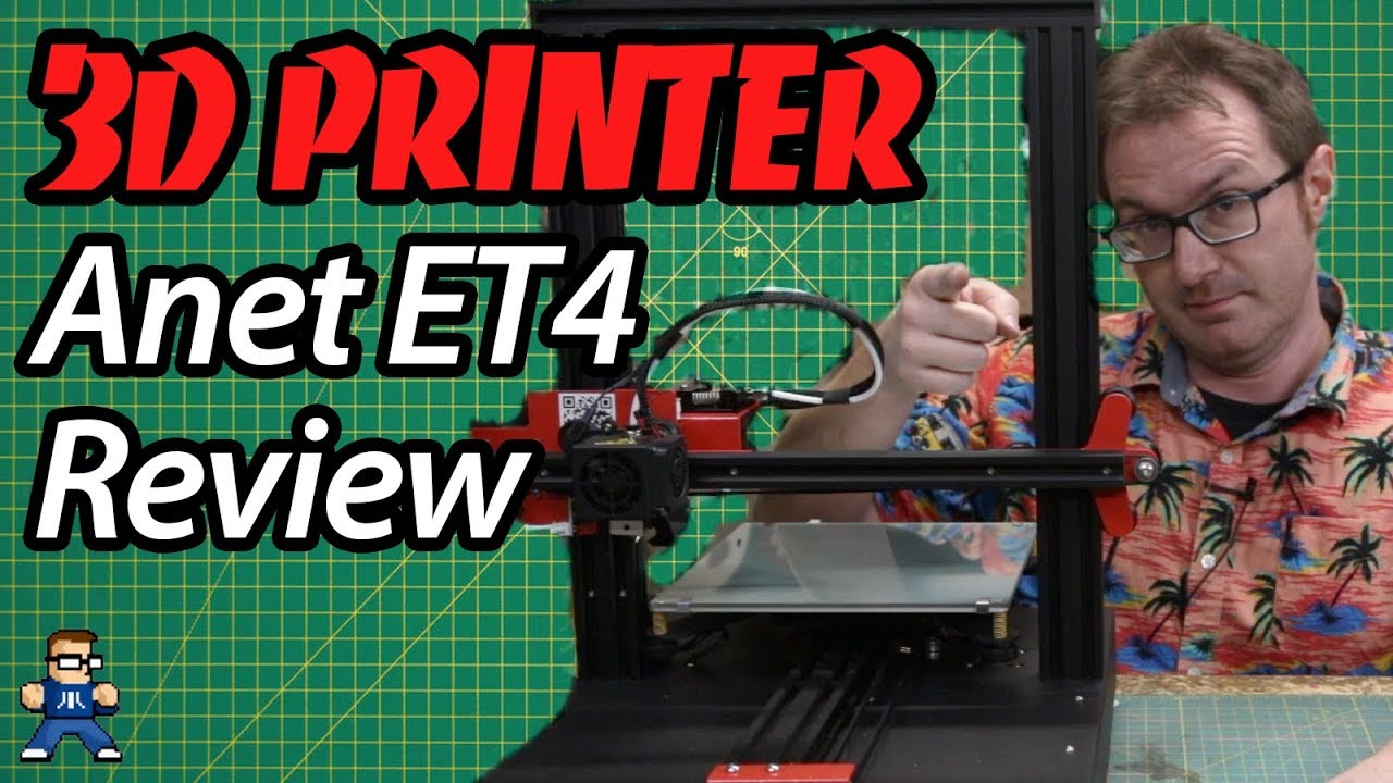 Anet ET4 3D Printer Assembly and Review