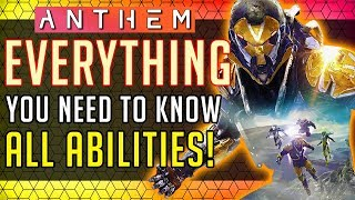 Anthem | Ranger: Everything You NEED to Know! All Abilities In-depth Look! #Anthem
