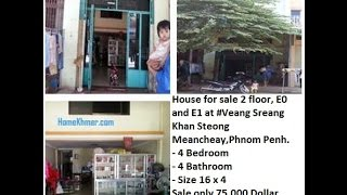 Cambodia Real estate for sale today - Khmer House for rent 2014 - Code of House #21246