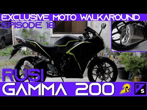 EXCLUSIVE MOTO WALKAROUND EP 18: RUSI GAMMA 200 | SPECS + PRICE