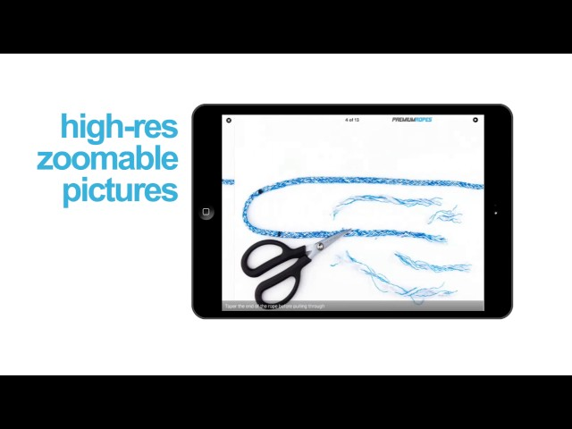 Splicing instruction videos - learn how to splice ropes