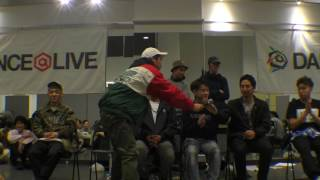 WINNER 北関東パスタ愛好会 & FINALIST & JUDGE interview / DANCE@LIVE 2017 RIZE KANTO CLIMAX