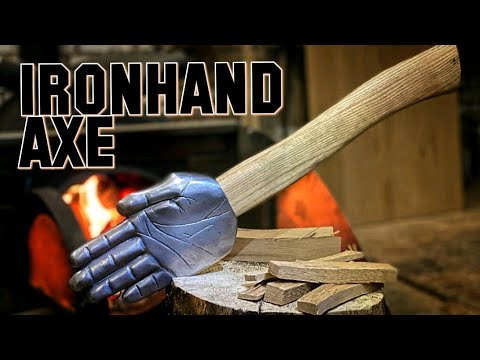 Axe Build - shaped like a human Hand