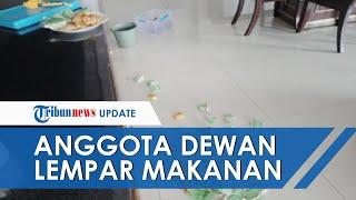 Viral! Anggota Dewan di Maluku Lempar Ubi Goreng ke Lantai akibat Tidak Sesuai Anggaran