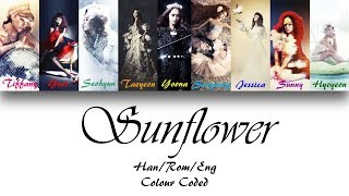 Girls' Generation (소녀시대) Sunflower (제자리걸음) Lyrics (Han/Rom/Eng) Colour Coded